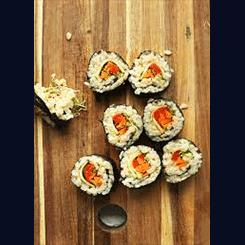 Sushi in Scotland